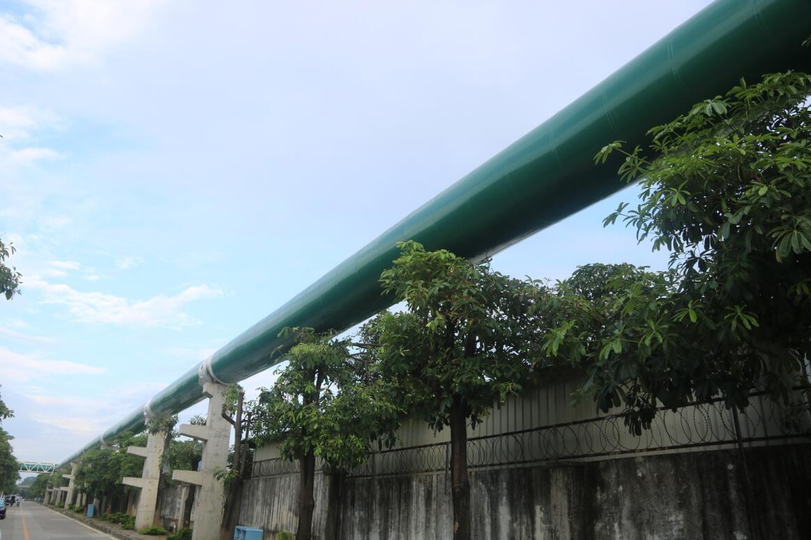 中电新奥热力供汽热网(北线)正式投运